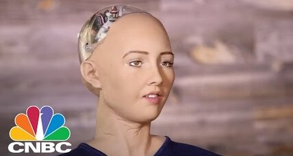 Robot Sophia could be a glimpse into the future