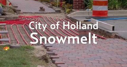 Holland, Mich.: Snowmelt capital of the USA?