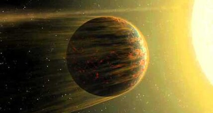 Two-faced exoplanet displays huge temperature range