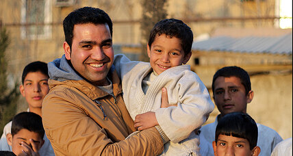 A former street child in Afghanistan, now giving back where he found help