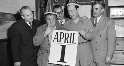No joke: April Fools' Day is centuries old