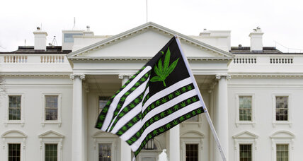 Why marijuana advocates were lighting up at the White House