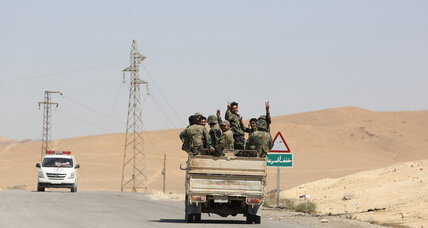 Syrian forces seize Islamic State-held town near Palmyra