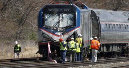 Amtrak train derailment near Philadelphia kills two, injures 35