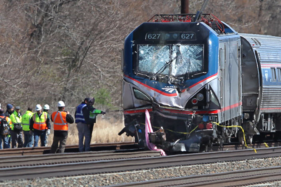amtrak train crash are train safety controls at fault csmonitor com
