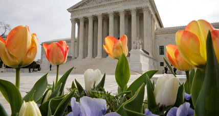 What does Scalia's empty chair mean for the Supreme Court's case load?