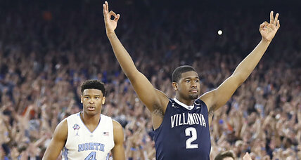 NCAA championship: Villanova beats North Carolina at the buzzer