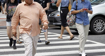 Texting and walking? Proposed New Jersey law says no