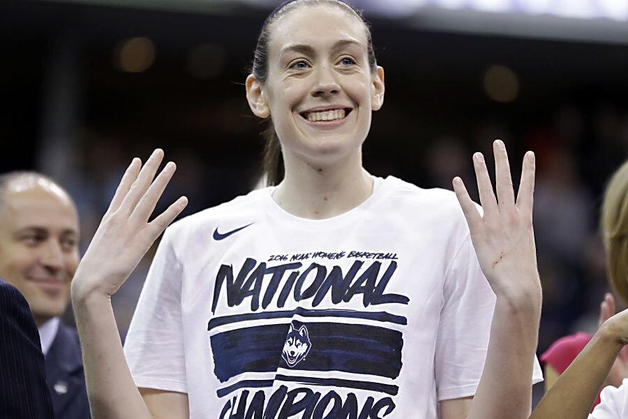 Breanna Stewart and UConn win fourth consecutive NCAA title - CSMonitor.com