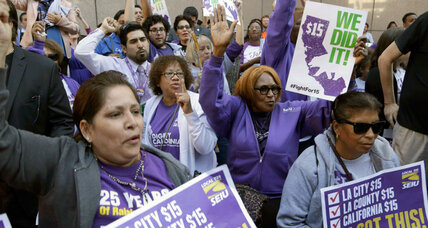 Behind minimum wage fight, voices of faith