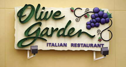 Q3 sales rose at Olive Garden. It's in the breadsticks