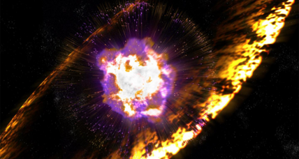 Ancient supernovae showered radioactive iron on our planet, say astronomers