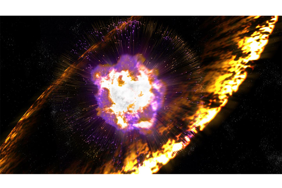 Ancient supernovae showered radioactive iron on our planet ...