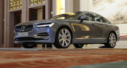 Why is Volvo testing 100 driverless cars on the congested roads of China?