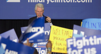 Why Bill Clinton's clash with Black Lives Matter won't affect Hillary's black vote