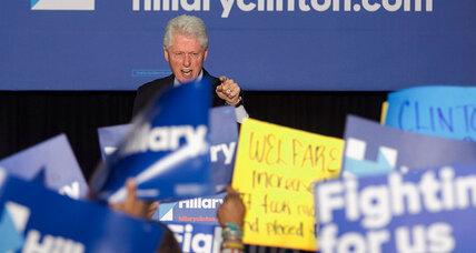 Between Bill Clinton and Black Lives Matter, a generational divide (+video)
