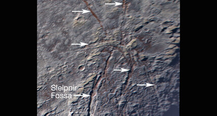 Giant spider: Another mysterious geographic feature on Pluto