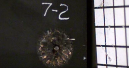 Scientists create metallic foam that shatters bullets