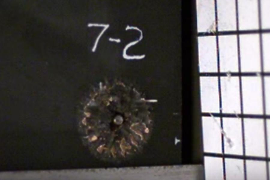 Scientists create metallic foam that shatters bullets
