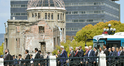 Kerry visits Hiroshima: Should Obama go too?