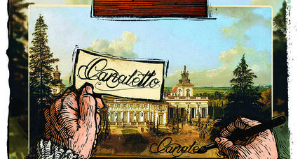 Of comic books and Canaletto