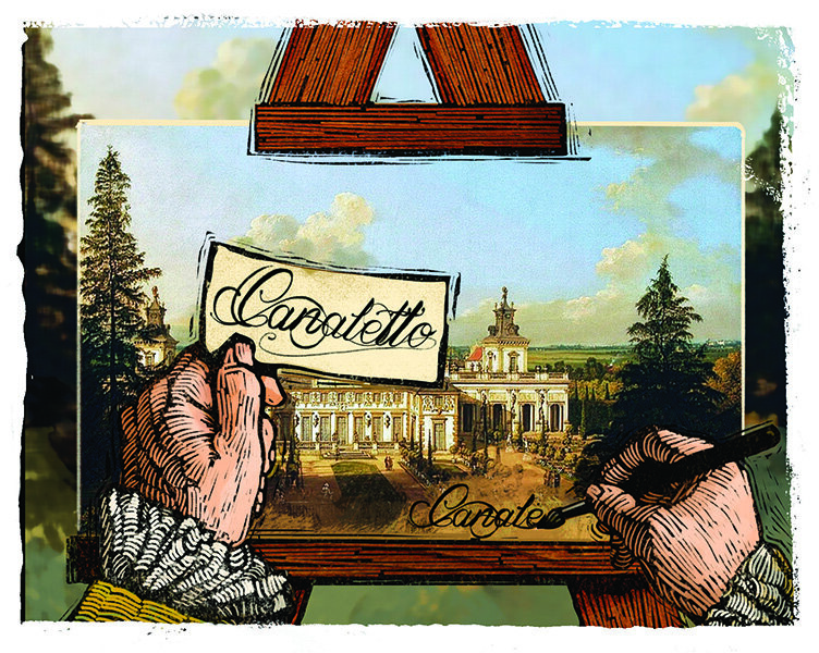 Of comic books and Canaletto - CSMonitor com