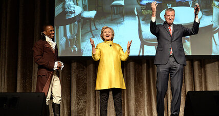 Hillary Clinton, Bill De Blasio draw criticism over scripted racial joke (+video)