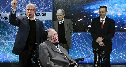 Sending robots to Alpha Centauri? Stephen Hawking is on it.