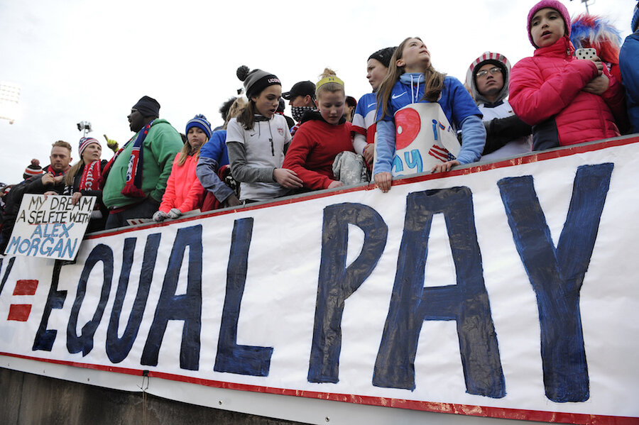 Parents As Equal Participants In Team >> Want To Shrink The Wage Gap Help Parents Care For Kids Csmonitor Com