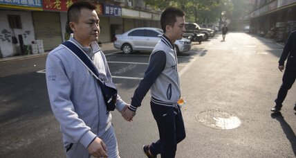In China's first-ever gay rights case, supporters see success in failing