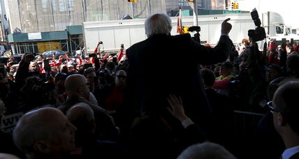 Bernie Sanders to Verizon workers: I can hear you now