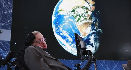 Stephen Hawking proposes to hunt for aliens with a fleet of tiny spaceships