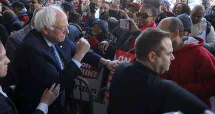 Sanders and Clinton return to battle in New York