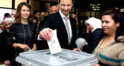 Assad holds parliamentary election as Syrian peace talks resume