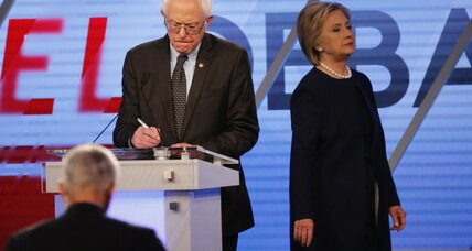 Democratic debate: Is Clinton or Sanders the real New Yorker? (+video)