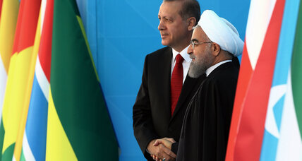 Despite deep divides over Syria, Turkey rolls out the welcome mat for Iran