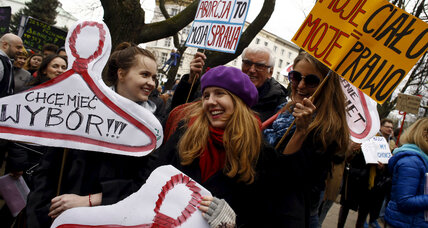 Poland's abortion debate: Why is support for current laws dropping?