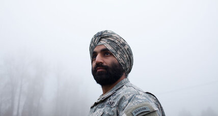 In a changing US Army, turbans and hijabs allowed