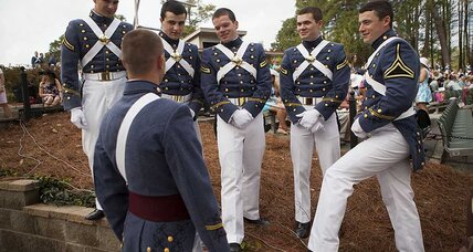 Can The Citadel's dress code include a hijab?