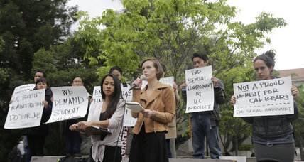 Accused of mishandling sexual harassment case, UC Berkeley provost quits (+video)