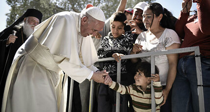 Leading by example: Pope brings 12 Syrian Muslim refugees back to Italy
