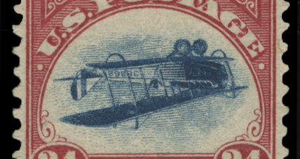 Rare 'inverted Jenny' stamp turns up, six decades after being stolen