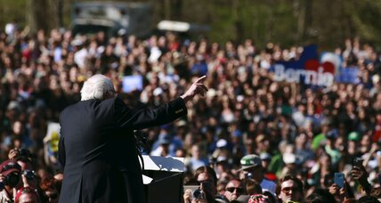 Sanders draws a record crowd in Brooklyn. A sign of what's to come?