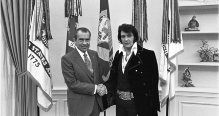 'Elvis & Nixon' plays with an odd moment in history