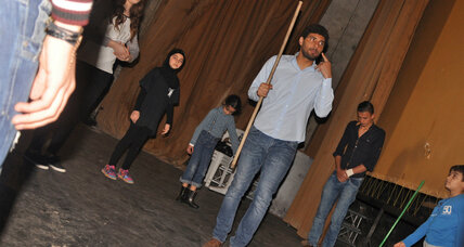 In southern Lebanon, theater program seeks to build a cultural life