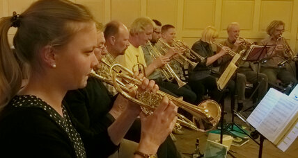 Preaching to the trombone choir: Music gives German church a boost