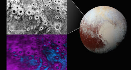 Pluto has mysterious, icy 'halo' craters. How did they form?