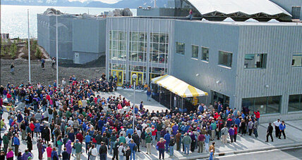 Using seawater for heating? Alaska aquarium takes the plunge.