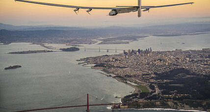 Solar-powered aircraft, Solar Impulse 2, completes trans-Pacific flight