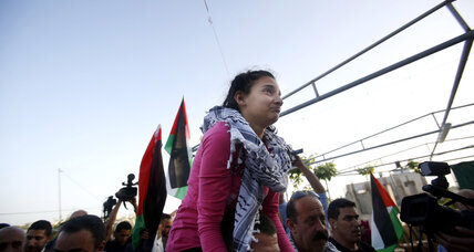 Israel frees youngest Palestinian prisoner